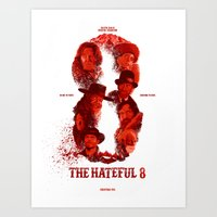 The Hateful 8 Art Print