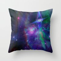 Third Eye Child Throw Pillow