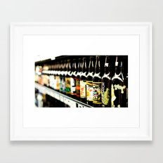 The Locals Framed Art Print