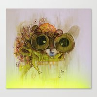Weedy Playstation Franke… Canvas Print