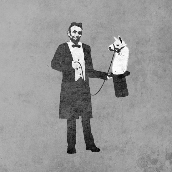Lincoln's Llama Trick Art Print