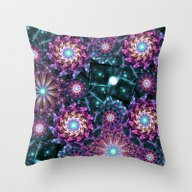 Throw Pillow featuring Colorful Universe by Kirsten Star
