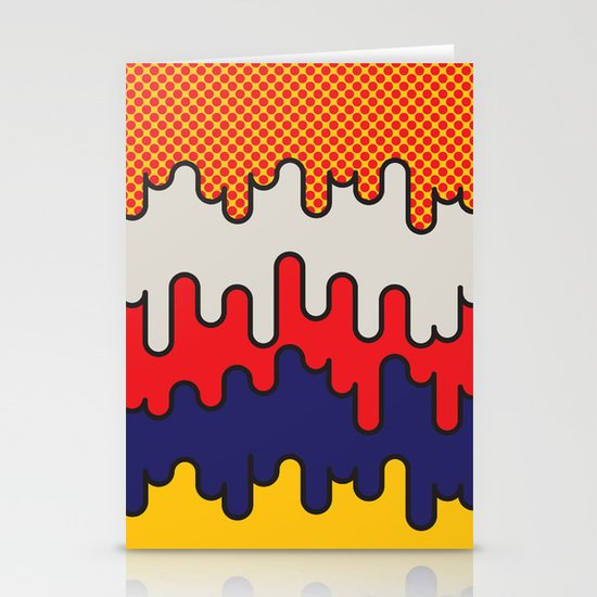 Lichtenstein Stationery Card
