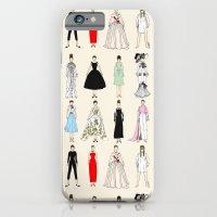 Audrey Fashion Vintage Retro in Cream iPhone 6 Slim Case