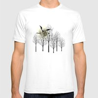 Vollmond Mens Fitted Tee White SMALL