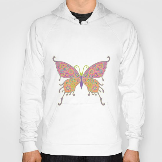 Butterflies Are Free To Fly... Hoody