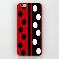 Stripes & Dots iPhone & iPod Skin