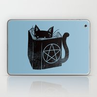 WITCHCRAFT CAT (Blue) Laptop & iPad Skin