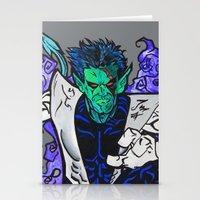 Nightcrawler Stationery Cards