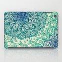 Emerald Doodle iPad Case