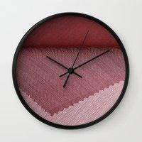 Purple Cover  Wall Clock