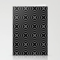 Sunbeam In Black And Gre… Stationery Cards