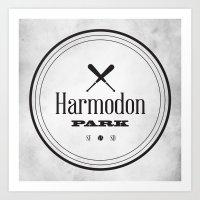 Harmodon Park Art Print