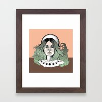 Magic Moon Framed Art Print