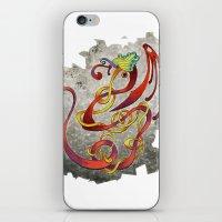 Dancing Dragon iPhone & iPod Skin