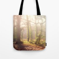 Woodland Fog Tote Bag