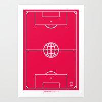 Universal Platform (Outl… Art Print