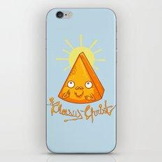 In Cheese We Trust iPhone & iPod Skin