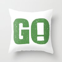 GO! Throw Pillow