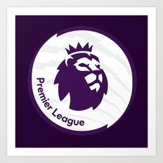 english premier league the best logo Art Print