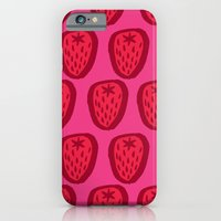Kent Strawberries iPhone 6 Slim Case