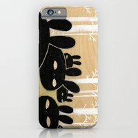 iPhone & iPod Case featuring Suspicious Bunnies by Hyein Lee