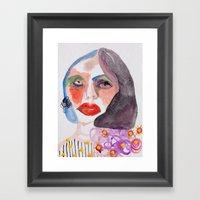 Cameo #11 Framed Art Print