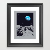 From The Moon Framed Art Print