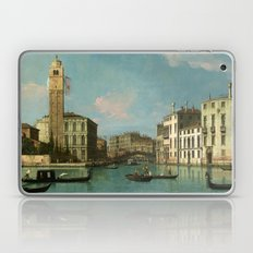 Venice - Entrance to the Cannaregio by Canaletto Laptop & iPad Skin