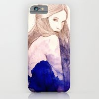 iPhone & iPod Case featuring Blue by Sarah Bochaton