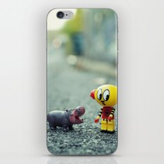 HI!! I told you i don't want a pet!! iPhone & iPod Skin