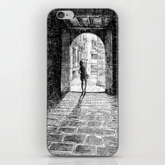 Light - Black ink iPhone & iPod Skin