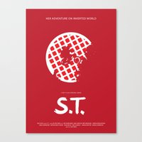 S.T. Canvas Print