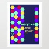 marynka single hop Art Print