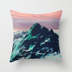 Day Mountain No. 2 Throw Pillow