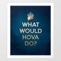 What Would Hova Do? - Ja… Art Print