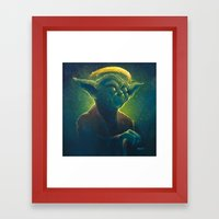 The Contemplation Of Sai… Framed Art Print