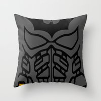 The Lego Knight Rises Throw Pillow