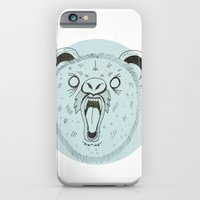 iPhone & iPod Case featuring THE BEAR by eve orea