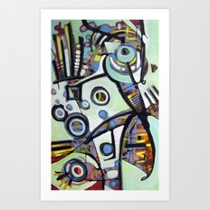The Finch Art Print