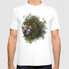 SWWLB Mens Fitted Tee White SMALL