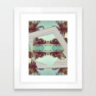 Tropics Trip Framed Art Print