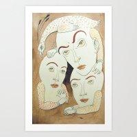 Slumber Party Art Print