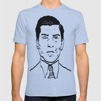 Charles 'Lucky' Luciano Mens Fitted Tee Athletic Blue SMALL