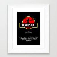 Deadpool : Merc With A … Framed Art Print