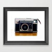 Instamatic Framed Art Print