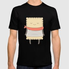 le petit beurre, the cookie SMALL Mens Fitted Tee Black