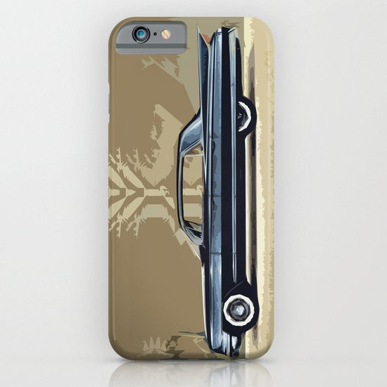 1961 Cadillac Fleetwood Sixty-Special ~ An Artist's Impression  iPhone & iPod Case