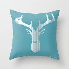 Deer Throw Pillow