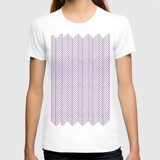 Herringbone Orchid T-shirt